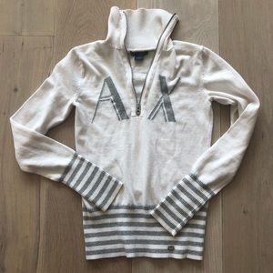 Armani Exchange White Sweater Sz. S
